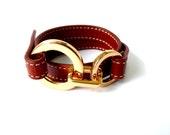 Brown Leather Bracelet - New