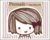 Etsy Banner  Etsy Premade Shop Set - Premium Package