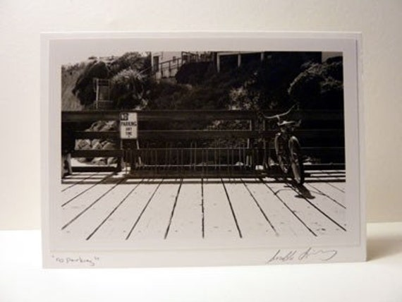 Bicycle Greeting Card, Photo Black And White, Bike Card, Cycling, Biking Card, Blank Bike Card, Cyclist Card Bike Photo, Cycling Photo