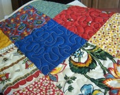 Quilted Table Runner - Country French - Le Petit Poulet