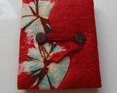 Original amorous feelings - Handmade Paper with tie-dye method Notebook