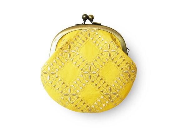 Lemon Sherbet Yellow Coin Purse