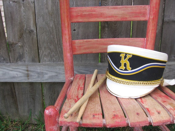Vintage Hat Marching Band Hat