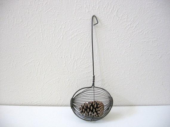 vintage strainer spoon unique primitive rustic kitchen wall home decor hostess housewarming