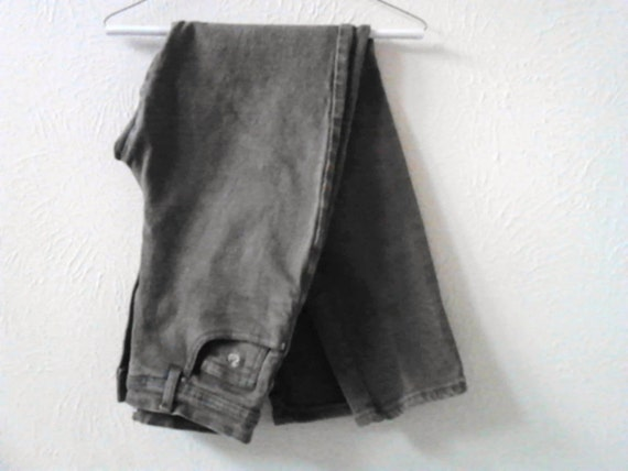 jeans pants Gloria Vanderbilt jean size 8 olive green vintage