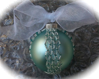 Netted Ball Ornament Tutorial (JDC032)