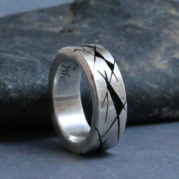 Unisex Silver Ring
