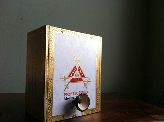 Jewelry Box - Montecristo Cigar Box