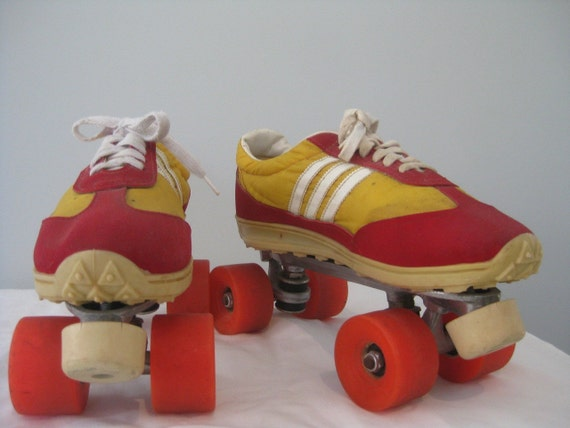 1970s Or 1980s Sneaker Roller Skates Mens 8 Womens By