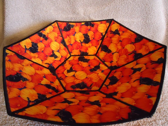 Halloween Fabric Basket