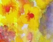 Bloom, Original Watercolor Painting