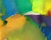 Art Print, Watercolor, Large, Awakening