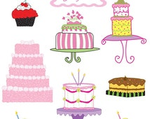 Popular items for cupcake clipart on Etsy
