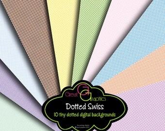 Baby Shower Digital Paper Polka Dot Paper Dotted Swiss Digital Polka Dot Printables Instant Download