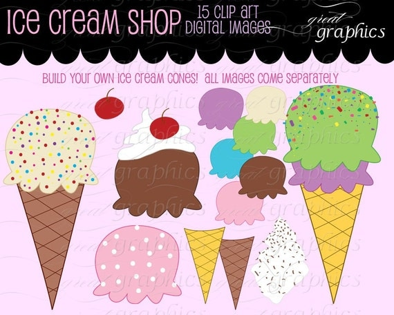 clip art ice cream party - photo #5