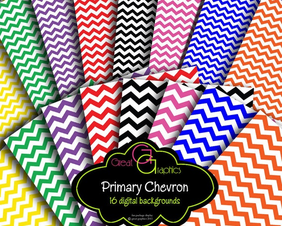 Chevron Paper Chevron Digital Paper Chevron Printable Pattern Chevron Background Paper Instant Download
