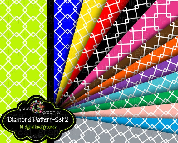 Digital Paper Printable Pattern Primary Color Background