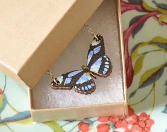 Katie Butterfly Pendant Necklace