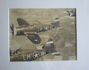 Vintage photo print matted 8x10 and ready to frame 11x14