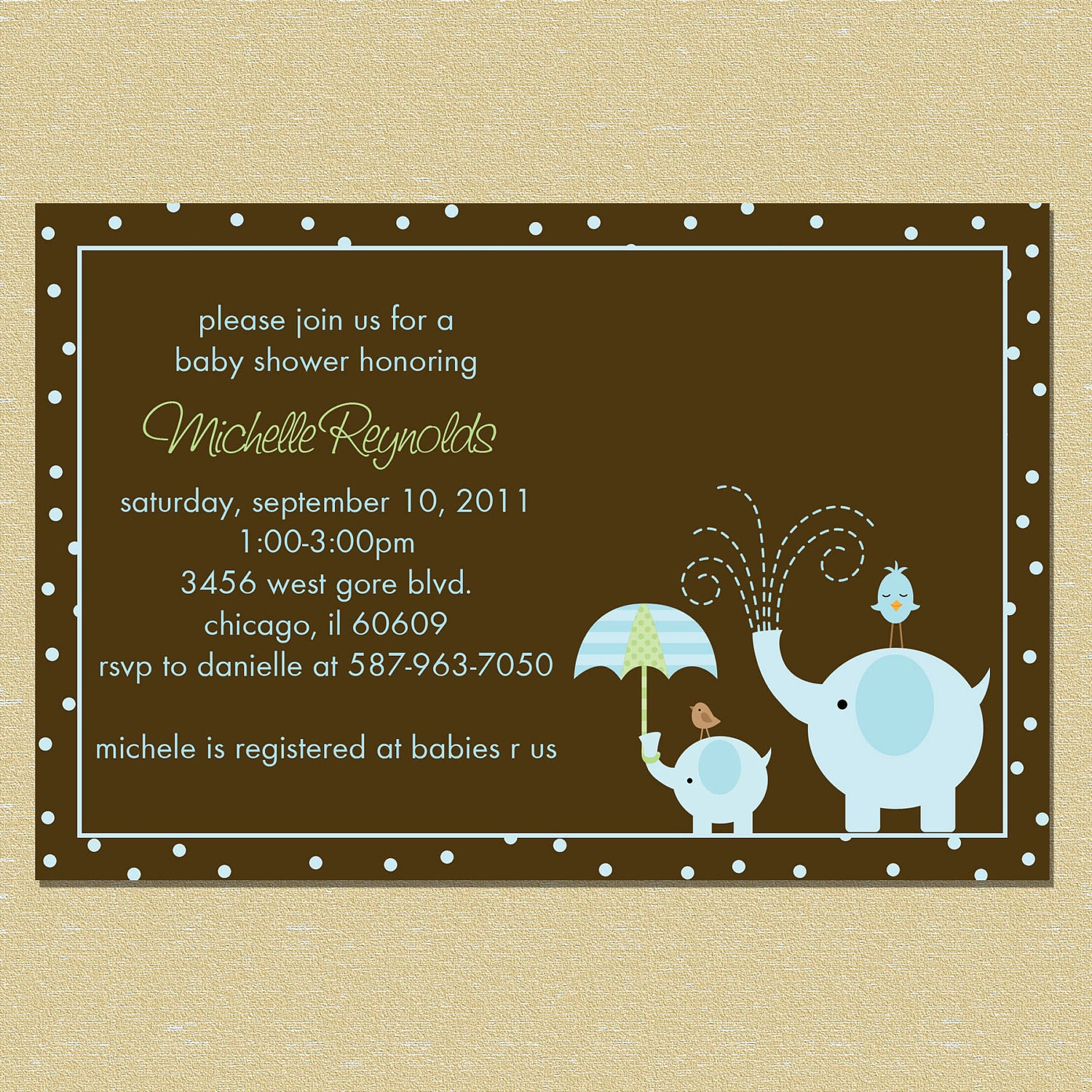 elephant boy baby shower invitation by littlemunchkinprints