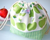 Toddler Backpack Lunch Bag - Green Apples