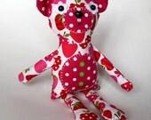 StrawBeary 15 inch Plush Bear