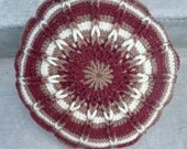 Pillow Round Crochet