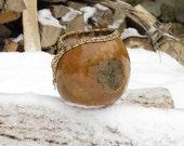 decorative gourd bowl