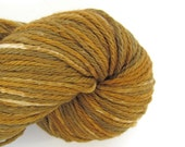 Hand Dyed Worsted Weight Cotton Yarn - Iron Pyrite