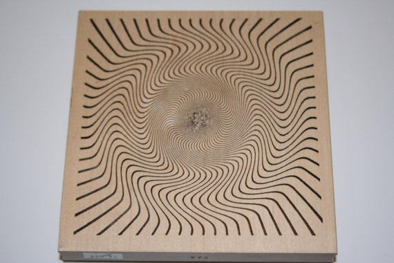 Outlines Rubber Stamp Company Illusions stamp