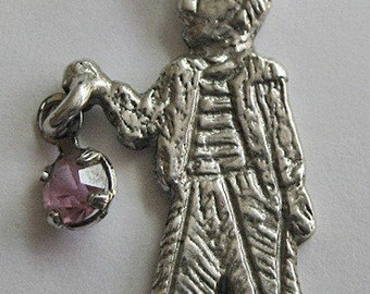 Vintage Sterling Silver Sailor with a Lantern Charm