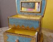 Vintage Italian Jewelry Box