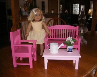 18 inch doll Garden Set