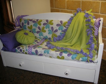 18 inch Doll Daybed for American Girl