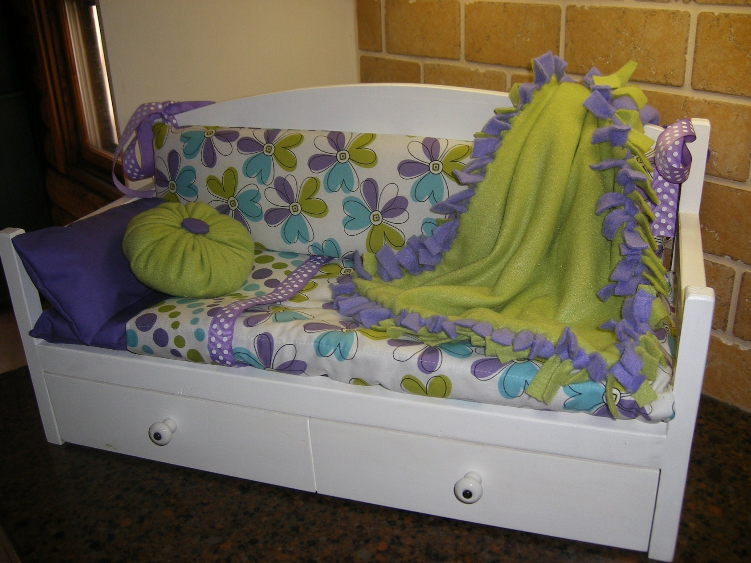 18 Inch Doll Daybed For American Girl By Lanning83 On Etsy