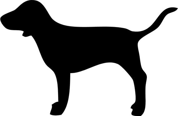Victoria Secret Dog Clipart Black