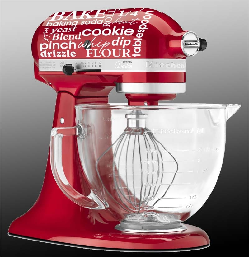 Kitchen Art Mixer: Kitchen Aid Mixer Subway Art Cooking Baking By GrabersGraphics