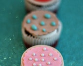 Cookie Fondant Toppers for Decorating Candyland Themed Cupcakes or other Sweet Treats
