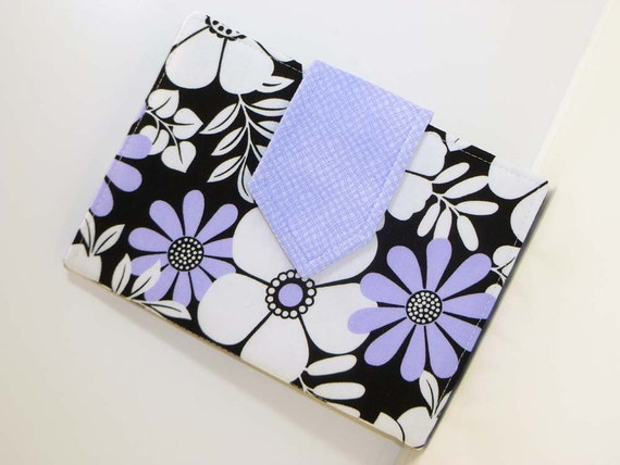 Lilac Flowered eReader Cover Kindle Cover, Nook Cover, Every Size FREE SHIPPING