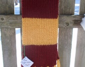 Hogwarts House Scarf- Made to Order