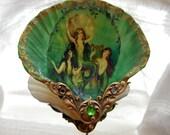 Mermaid Trio Shell Jewelry Dish