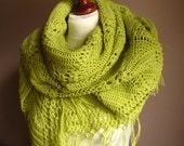 Lime JuiCE   -  lace shawl
