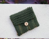 Coin purse pouch hand woven FREE SHIPPING