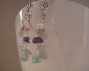 Mixed Quartz Earring