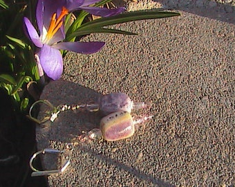 Purple Quartzanite Earrings