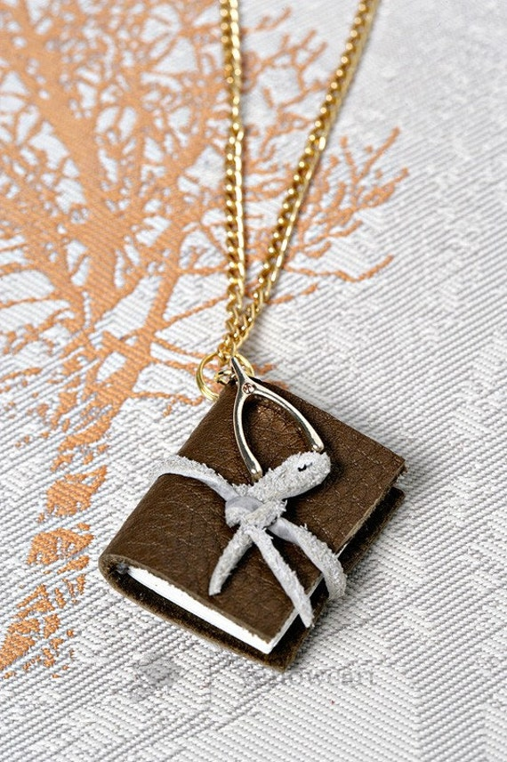 Wish upon...story book necklace