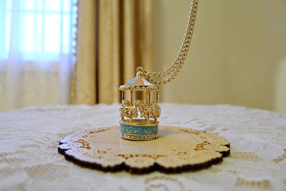 Dancing Carousel Necklace