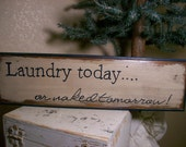 Hand painted, wood sign with an awesome message.