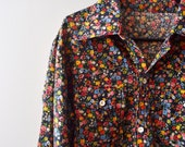 Vintage mini floral Shirt, fashion trend for spring 2012