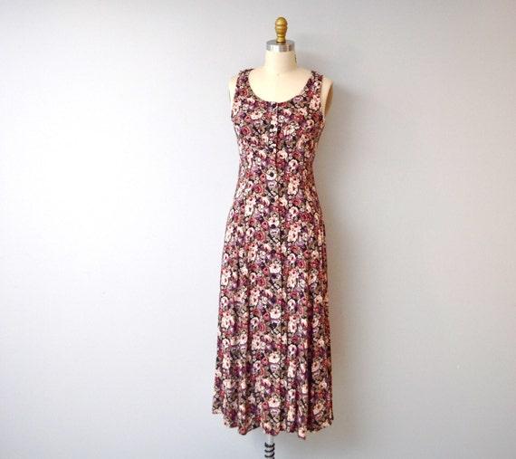 Vintage All that Jazz Floral Dress size medium